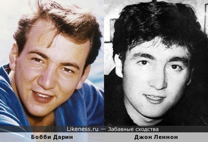 Бобби Дарин и Джон Леннон