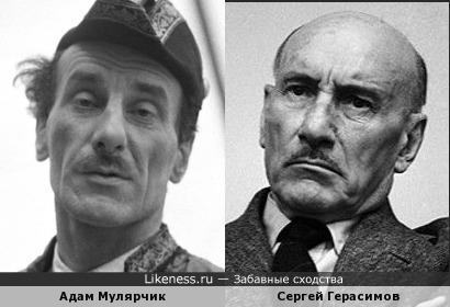 Адам Мулярчик и Сергей Герасимов