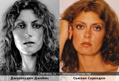 Джеральдин Джеймс и Сьюзан Сарандон