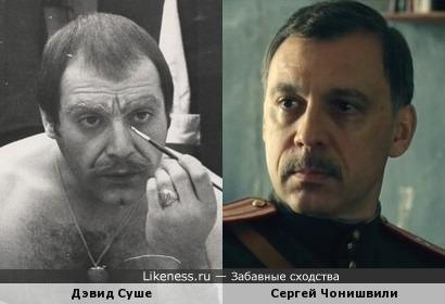 Дэвид Суше и Сергей Чонишвили