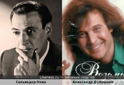 Сальвадор Ново и Александр Добрынин