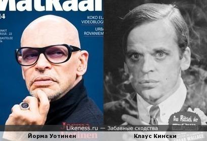 Йорма Уотинен и Клаус Кински