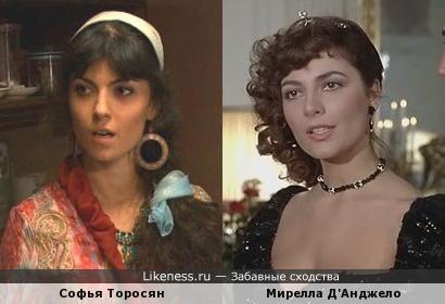 Софья Торосян и Мирелла Д'Анджело