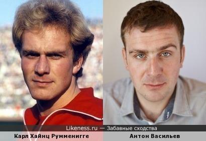 Карл Хайнц Румменигге и Антон Васильев