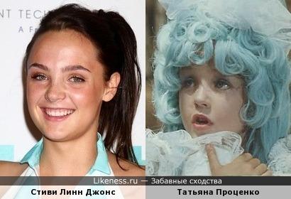 Стиви Линн Джонс и Татьяна Проценко