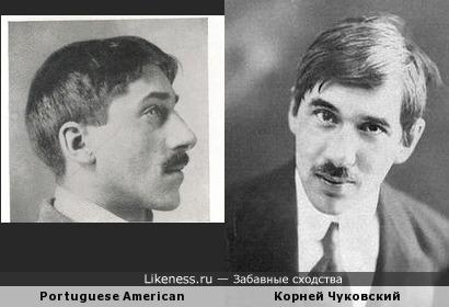 Представитель средиземноморской расы (по Эрнесту Хутону) и Корней Чуковский