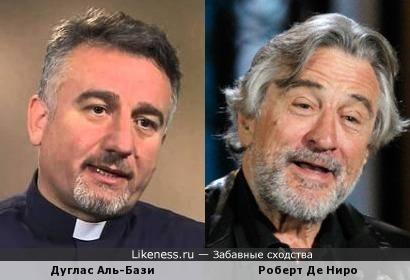 Дуглас Аль-Бази и Роберт Де Ниро