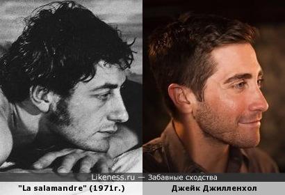 """Неопознанный актер французского фильма """"La salamandre"""