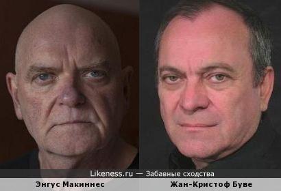 Энгус Макиннес и Жан-Кристоф Буве