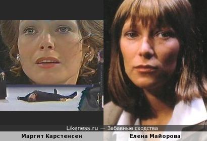 Маргит Карстенсен и Елена Майорова