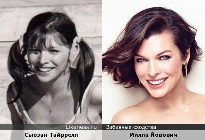 Сьюзан Тайррелл и Милла Йовович