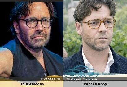 Эл Ди Меола и Рассел Кроу