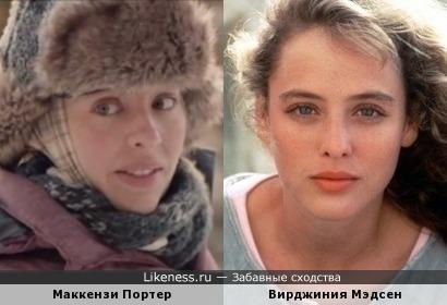 Маккензи Портер и Вирджиния Мэдсен