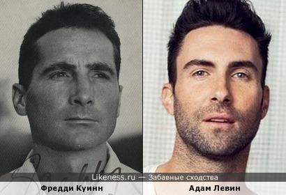Фредди Куинн и Адам Левин