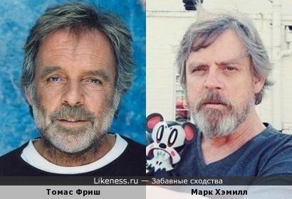 Томас Фриш и Марк Хэмилл