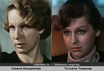Галина Киндинова и Татьяна Ташкова