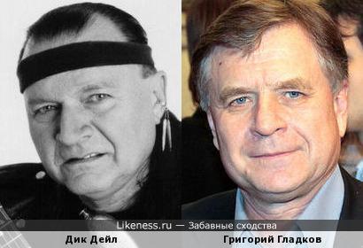Дик Дейл и Григорий Гладков