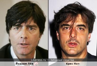 Йоахим Лёв и Крис Нота