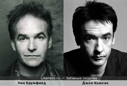 Ник Брумфилд и Джон Кьюсак