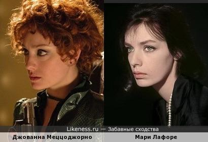Джованна Меццоджорно и Мари Лафоре