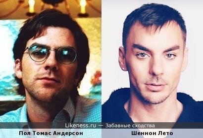 Пол Томас Андерсон и Шеннон Лето