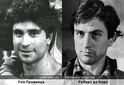 Пол Провенца и Роберт де Ниро