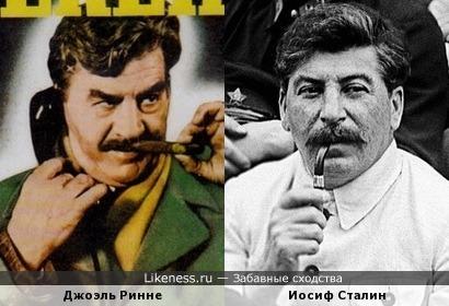 Джоэль Ринне на постере напомнил Иосифа Сталина