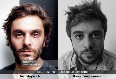 Пио Мармай и Илья Глинников