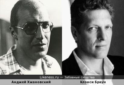 Анджей Хжановский и Клэнси Браун