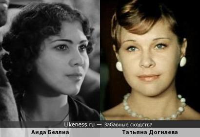 Аида Беллиа и Татьяна Догилева