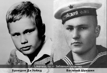Брэндон Де Уайлд и Василий Шукшин