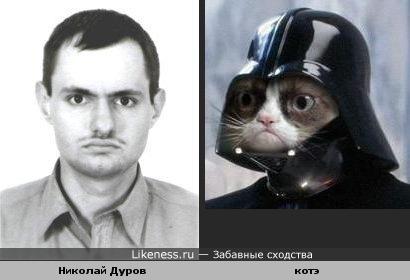 Дуров - котэ