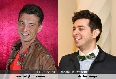 Николай Добрынин и Мариус Мога (Morandi)