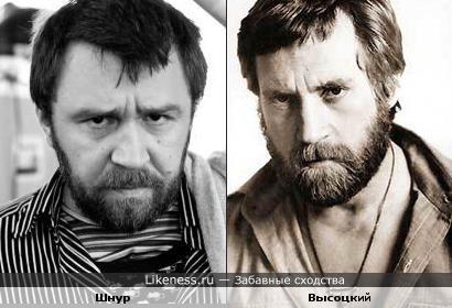 Сергей шнуров похож на владимира