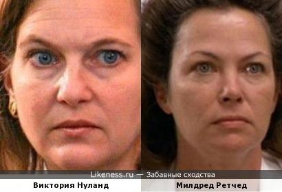 Сотрудница Госдепа похожа на работницу психбольницы