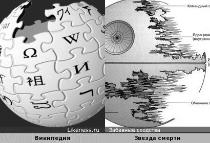 Википедия и Звезда смерти