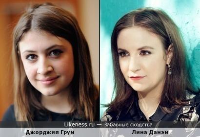 Образ актрис похож