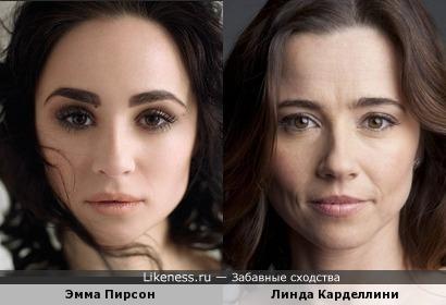 Эмма Пирсон и Линда Карделлини
