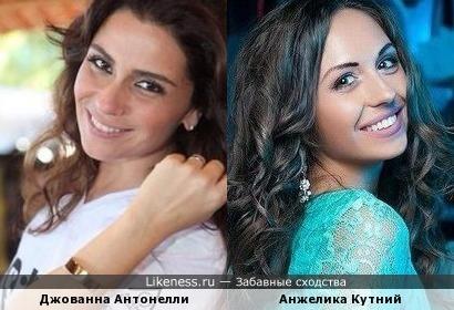 Джованна Антонелли и Анжелика Кутний
