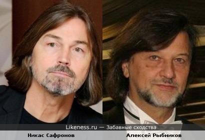 Никас Сафронов и Алексей Рыбников отрастили бороды.