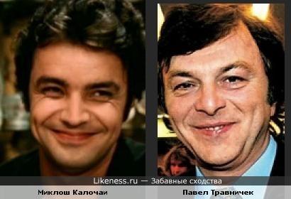 Миклош Калочаи и Павел Травничек похожи.