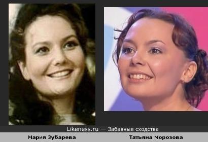 Татьяна Морозова напоминает Марию Зубареву