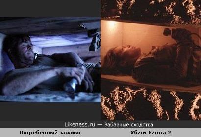 У них одинаковые домики и фонарики.