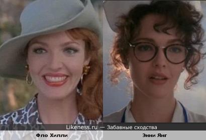 В первой части фильма и во второй героини Эми Ясбек похожи только внешне.