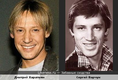 Носастенькие, губастенькие. Харатьян и Варчук похожи.