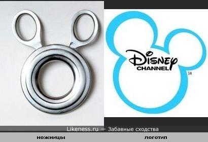 Ножницы для сигар похожи на логотип Диснея.