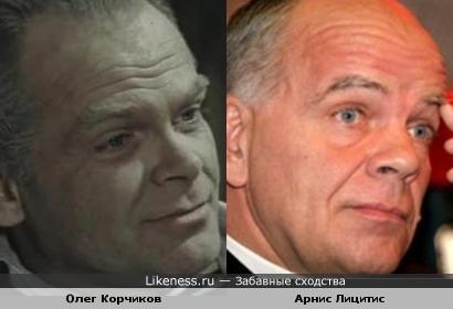 Олег Корчиков напоминает Арниса Лицитиса