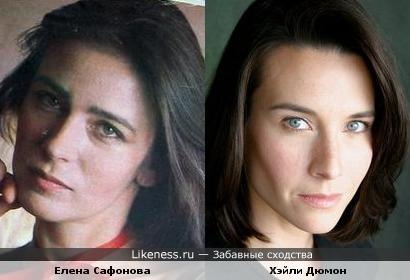 Хэйли Дюмон напомиает Елену Сафонову