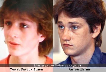 Антон Шагин похож на мальчика из американской детской комедии.
