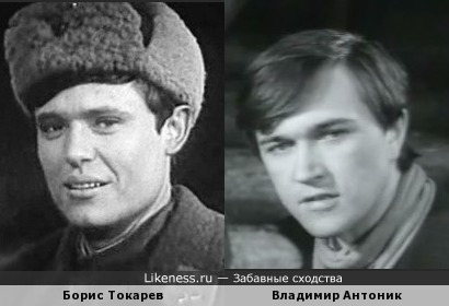 Борис Токарев и Владими Антоник похожи